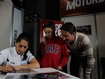 Maria Herrera MotoMadrid Motorbike Magazine 167