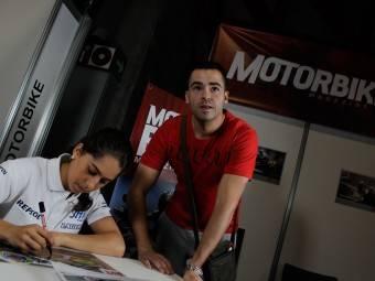 Maria Herrera MotoMadrid Motorbike Magazine 169