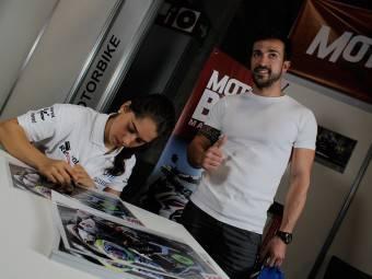 Maria Herrera MotoMadrid Motorbike Magazine 171