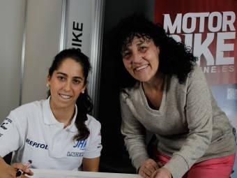 Maria Herrera MotoMadrid Motorbike Magazine 173