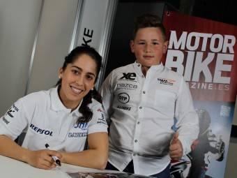 Maria Herrera MotoMadrid Motorbike Magazine 176