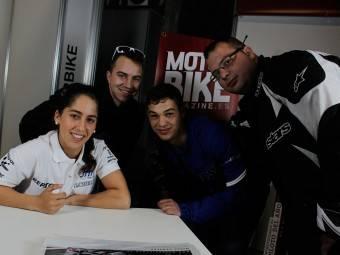 Maria Herrera MotoMadrid Motorbike Magazine 183