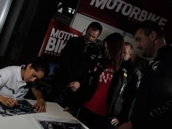 Maria Herrera MotoMadrid Motorbike Magazine 187