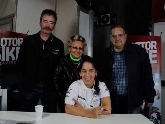 Maria Herrera MotoMadrid Motorbike Magazine 189