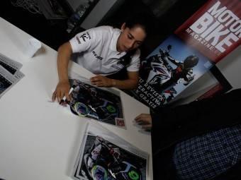 Maria Herrera MotoMadrid Motorbike Magazine 190