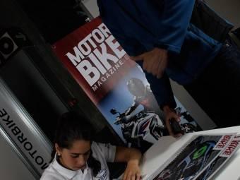 Maria Herrera MotoMadrid Motorbike Magazine 191