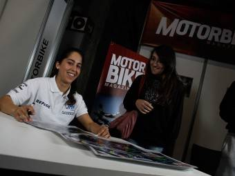Maria Herrera MotoMadrid Motorbike Magazine 192