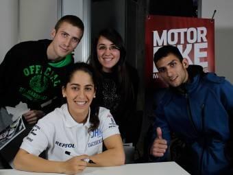 Maria Herrera MotoMadrid Motorbike Magazine 193