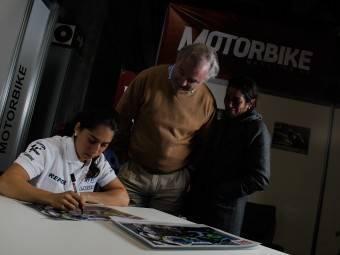 Maria Herrera MotoMadrid Motorbike Magazine 195