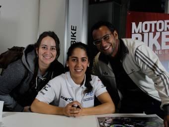Maria Herrera MotoMadrid Motorbike Magazine 199