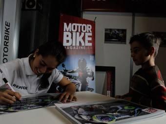 Maria Herrera MotoMadrid Motorbike Magazine 202