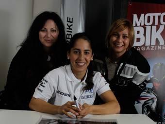 Maria Herrera MotoMadrid Motorbike Magazine 203
