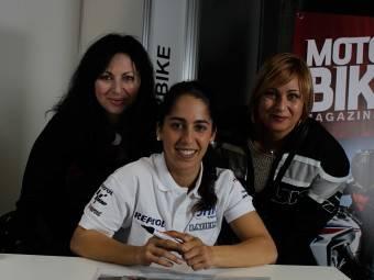 Maria Herrera MotoMadrid Motorbike Magazine 204
