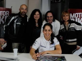 Maria Herrera MotoMadrid Motorbike Magazine 206