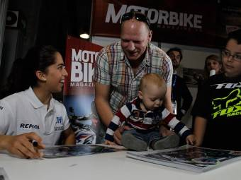 Maria Herrera MotoMadrid Motorbike Magazine 213