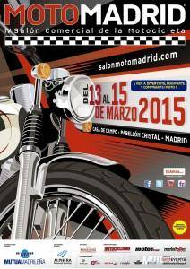 MotoMadrid 2015 - Cartel