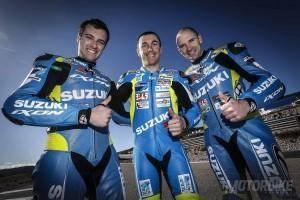 Suzuki Endurance Racing Team Vincent Philippe Anthony Delhalle Ettiene Masson - Motorbike Magazine
