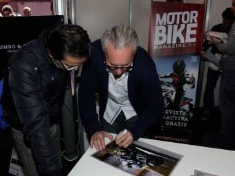 WayneGardner CarlosCardus MotoMadrid Motorbike Magazine 106