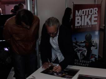 WayneGardner CarlosCardus MotoMadrid Motorbike Magazine 121