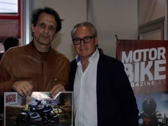 WayneGardner CarlosCardus MotoMadrid Motorbike Magazine 124