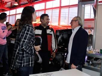 WayneGardner CarlosCardus MotoMadrid Motorbike Magazine 150