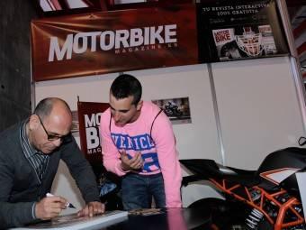 WayneGardner CarlosCardus MotoMadrid Motorbike Magazine 166