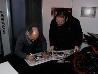 WayneGardner CarlosCardus MotoMadrid Motorbike Magazine 176