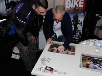 WayneGardner CarlosCardus MotoMadrid Motorbike Magazine 181