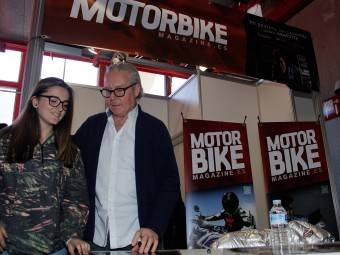 WayneGardner CarlosCardus MotoMadrid Motorbike Magazine 189