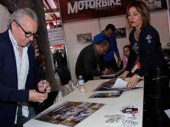 WayneGardner CarlosCardus MotoMadrid Motorbike Magazine 244