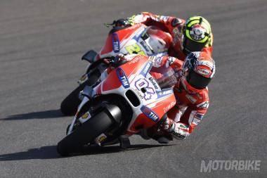 Andrea Dovizioso Andrea Iannone Ducati MotoGP 2015 - Motorbike Magazine