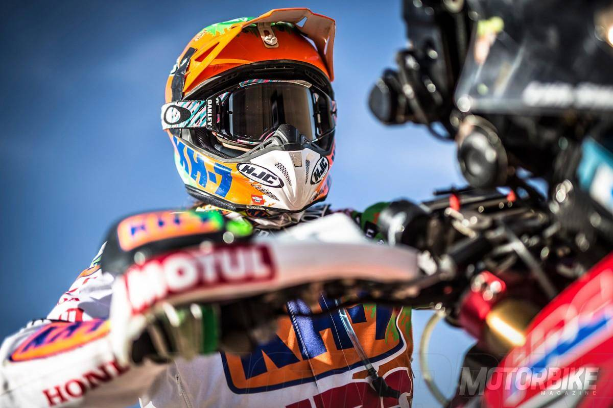 Dakar 2016 Ivan Cervantes Laia Sanz 01