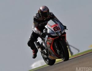 Jordi Torres Aprilia WSBK Motorland 2015 - Motorbike Magazine