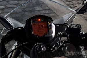 KTM RC 390 - Instrumentación