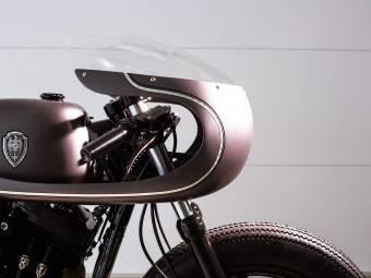 Harley Davidson Sportster Cafe racer 8