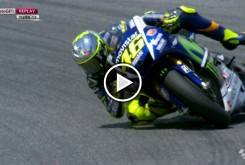 Valentino Rossi Mugello 2015 caida