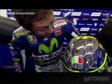 Valentino Rossi casco Mugello AGV 10