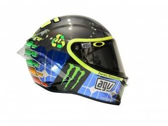Valentino Rossi casco Mugello AGV 2015 vr46mirror