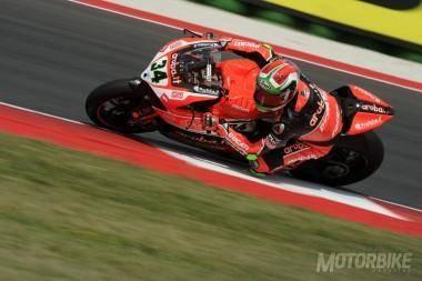 Davide Giugliano WSBK Misano 2015 Ducati - Motorbike Magazine