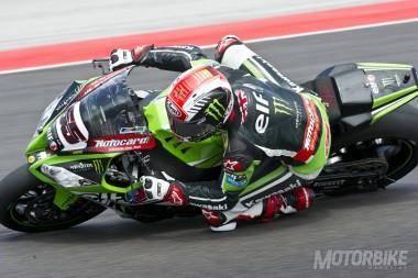 Jonathan Rea Kawasaki WSBK Misano 2015 - Motorbike Magazine