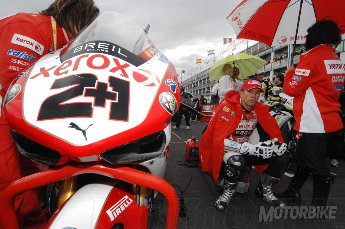 Troy Bayliss - Motorbike Magazine