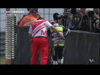 Caida Maria Herrrera Ana Carrasco Moto3 Sachsenring 2015
