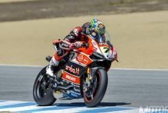 Chaz Davies WSBK Laguna Seca 2015 Ducati - Motorbike Magazine