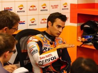 Dani Pedrosa MotoGP Sachsenring 2015