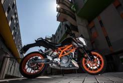 KTM Duke 390 Parte ciclo