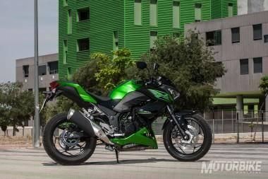 Kawasaki Z300 Diseño