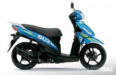 Suzuki Address 110 MotoGP 2015