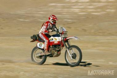 1982 Paris Dakar - Cyril Neveu - Honda 500 XRR