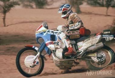 1988 Paris Dakar - Edi Orioli - Honda NXR750 Africa Twin