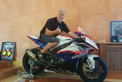 Dani Rivas BMW regalo Aleix Espargaro y Pol Espargaro